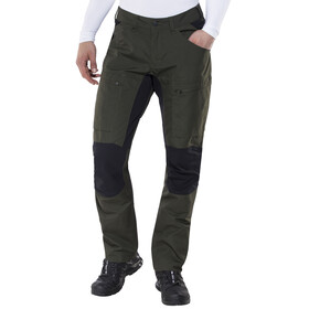 Lundhags Lockne Spodnie długie Mężczyźni czarny/oliwkowy